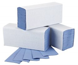 Multifold Hand Towels Blue Adapt Paper