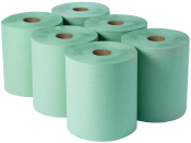 Dairy Wiper Roll Green Adapt Paper
