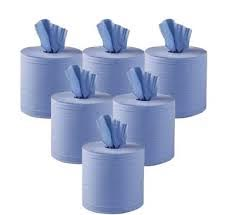 centrefeed roll blue adapt paper